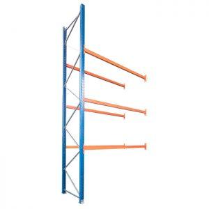 Použitý přídavný paletový regál, 4200x3600x1100 mm, 3 police